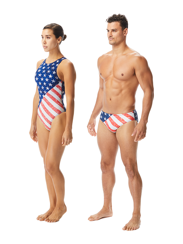 USA Water Polo STAR SPANGLED Breakaway