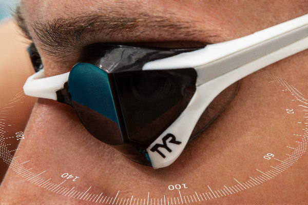 TYR Tracer-X  Elite Goggle - 180 Wide Peripheral Range