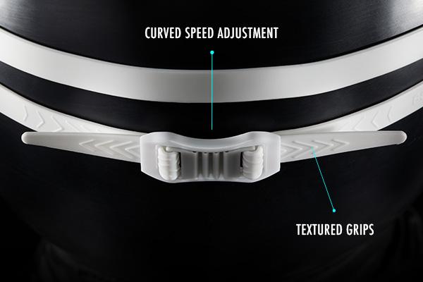 TYR Tracer-X Elite Swim Goggle - Curved Speed Adjustment